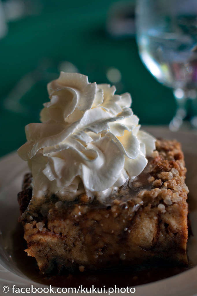 Macadamia Nut Bread Pudding with caramel sauce #Hawaii #Fo ...