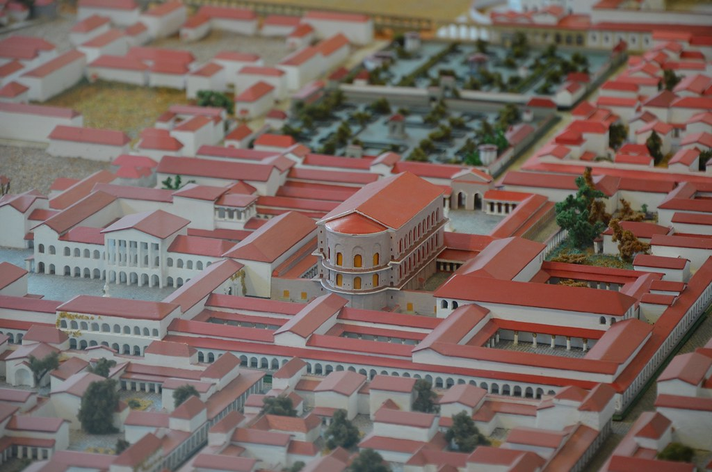 Scale Model Of Augusta Treverorum Trier Rheinisches Lan Flickr