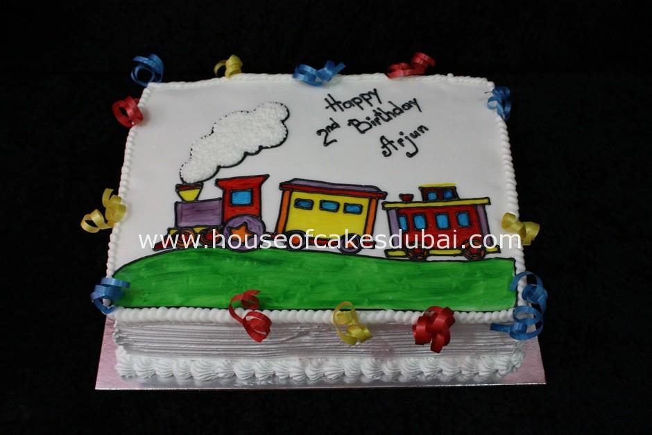 Birthday Cakes Dubai ~ Train birthday cake irena flickr
