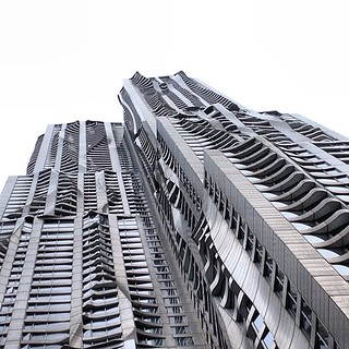 From Another World - Gehry's Spruce St -- NYC, US | by Mabry Campbell