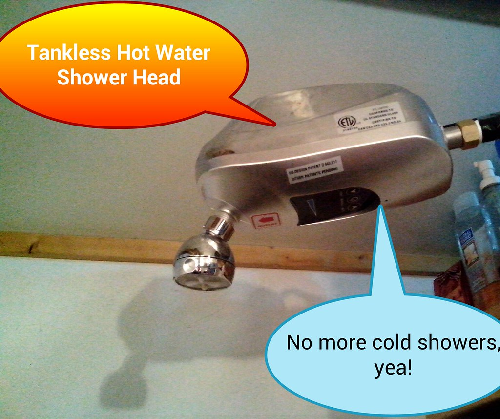 Exceptional ... Tankless Hot Water Shower Head   2500watt | By SciFi Geek