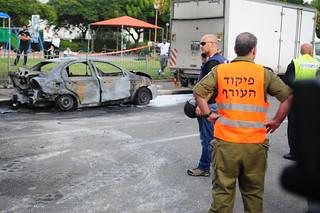 The Aftermath of a Rocket Attack in Israel | by Israel Defense Forces