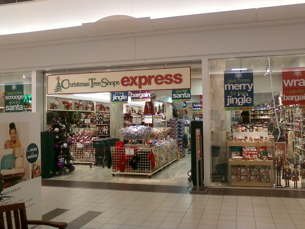 Christmas tree shops express neshaminy mall located in for The christmas shop