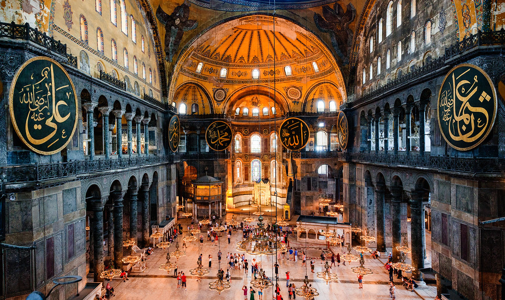 ... Hagia Sophia: Grand Interior | By Nomadic Vision Photography