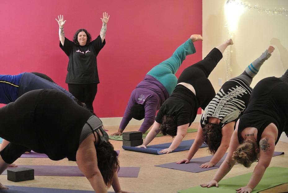 c) Fat Yoga Fat Yoga Flickr