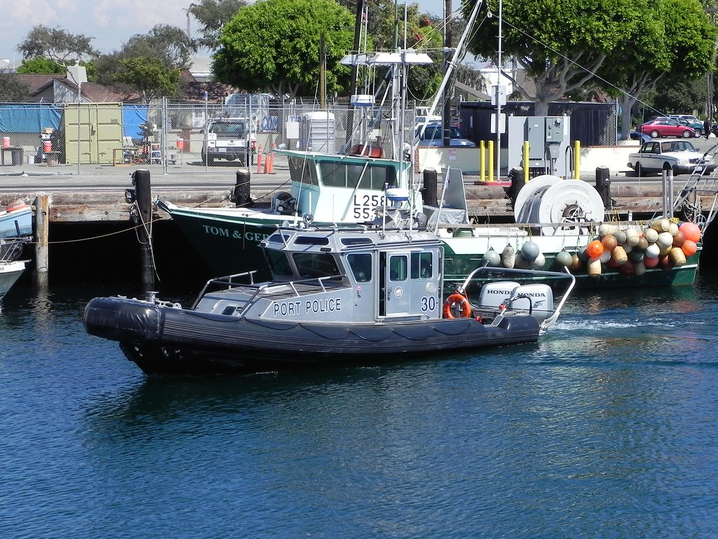 Los angeles port police you don 39 t go very long without for La port police