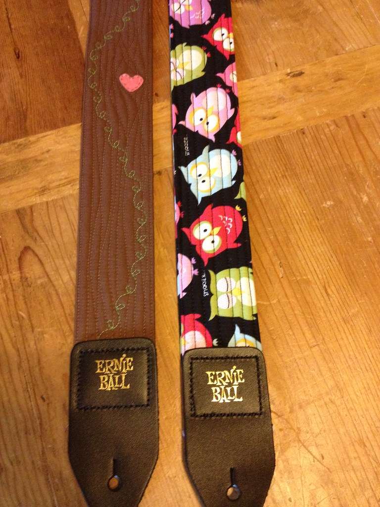diy easy guitar straps | jenny | flickr