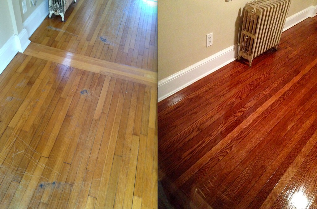 Minwax red mahogany stain