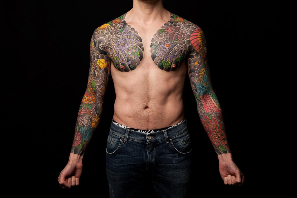 Matt tucker i helped matt tucker document his beautiful for Japanese tattoo artists