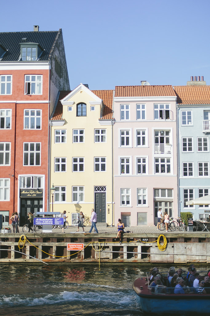 Colourful Copenhagen buildings