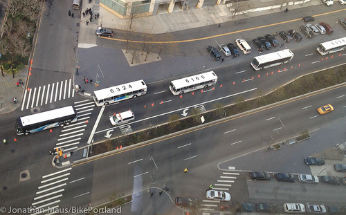 emergency bus rapid transit on Flatbush | by BikePortland.org