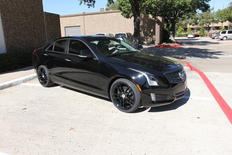 Berserk Cadillac ATS blacked out chrome trim | Flickr