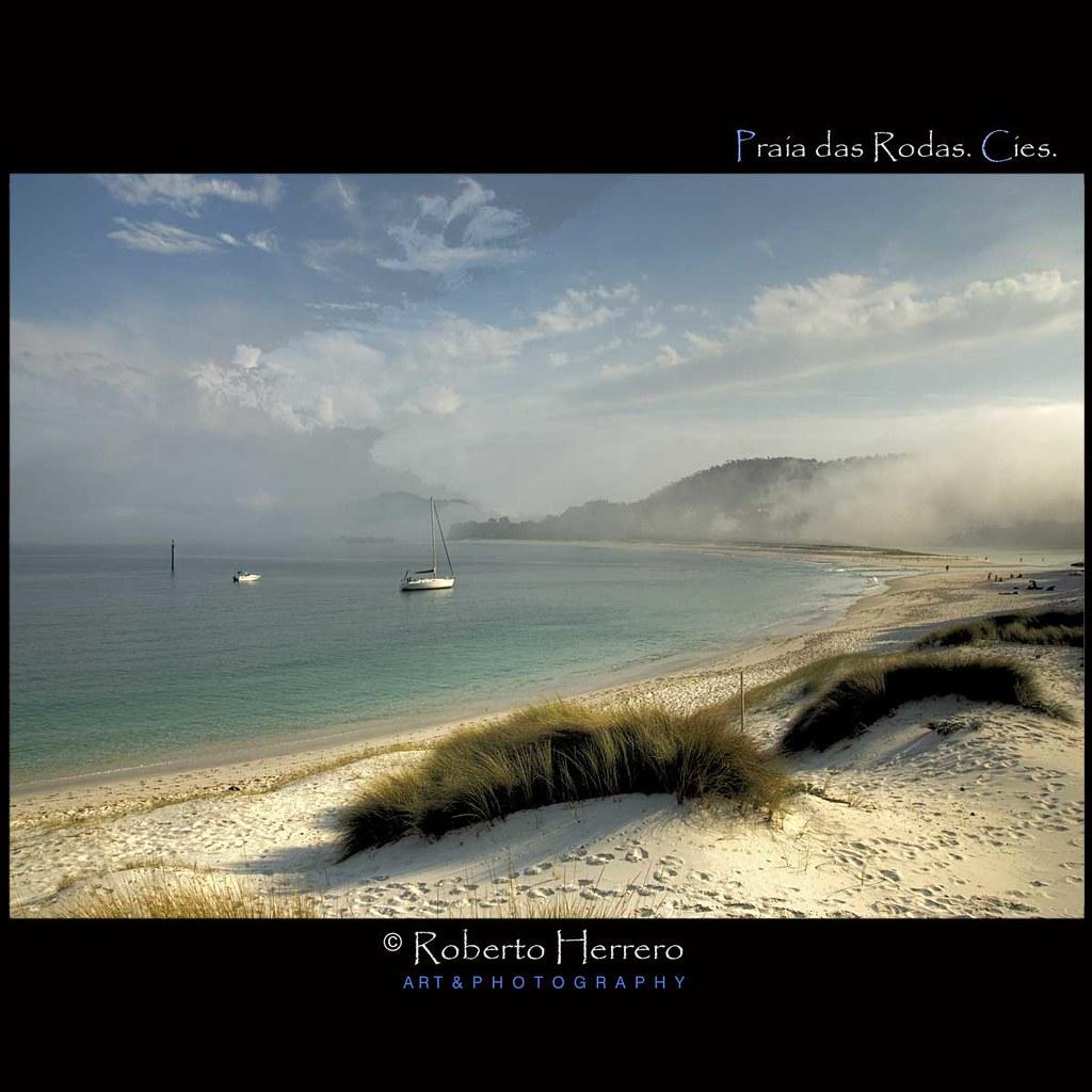 Praia das rodas illas cies getty images parque - Roberto herrero ...