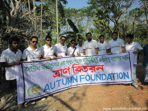 Relief distribution in Hatia | by AUTUMN Foundation