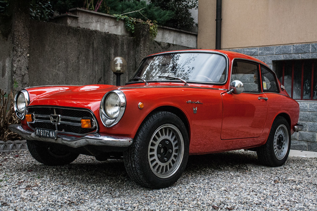 my honda s800 finally restored the s800 is a sports. Black Bedroom Furniture Sets. Home Design Ideas