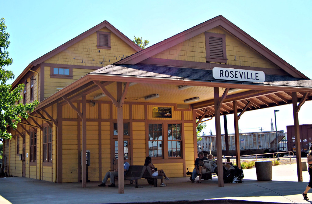 Roseville Amtrak Station California The Current Two