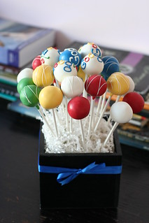 Corporate Cake Pop Client Gifts | by Sweet Lauren Cakes