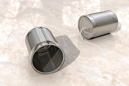 3D Tin Can Phones