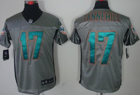 caec0f975 ... topjerseysmarket Nike Miami Dolphins #17 Ryan Tannehill Gray Elite  Jersey | by topjerseysmarket