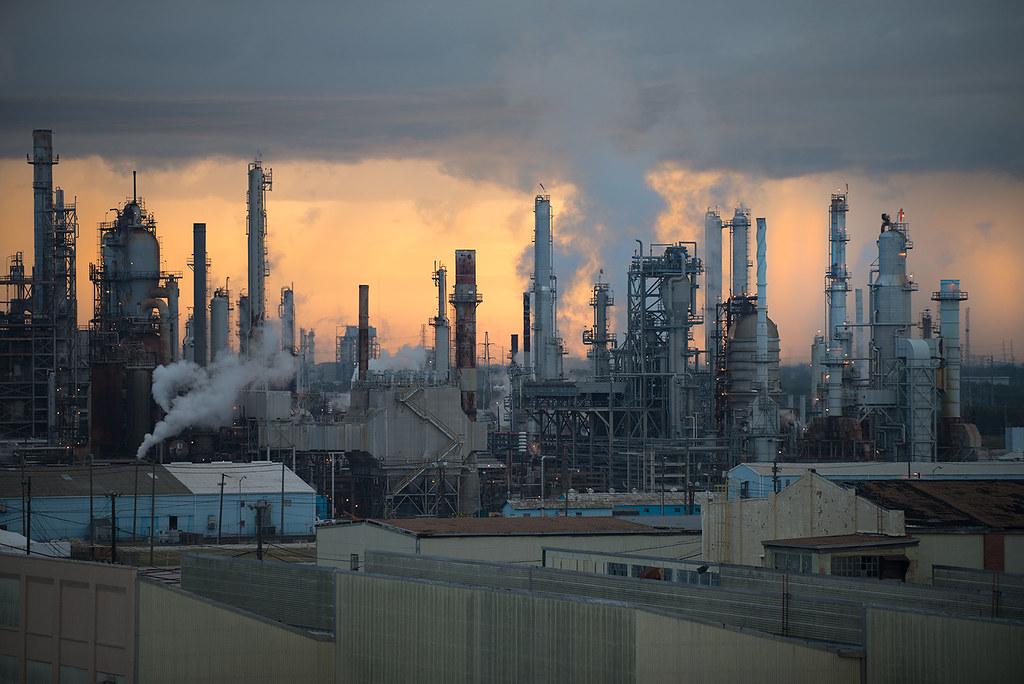 Industrial Landscape | Taken on the Houston Ship Channel ...
