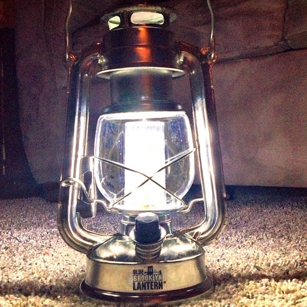 Ye Old Brooklyn Lantern Made From Quot Real Metal Quot Amp Yes