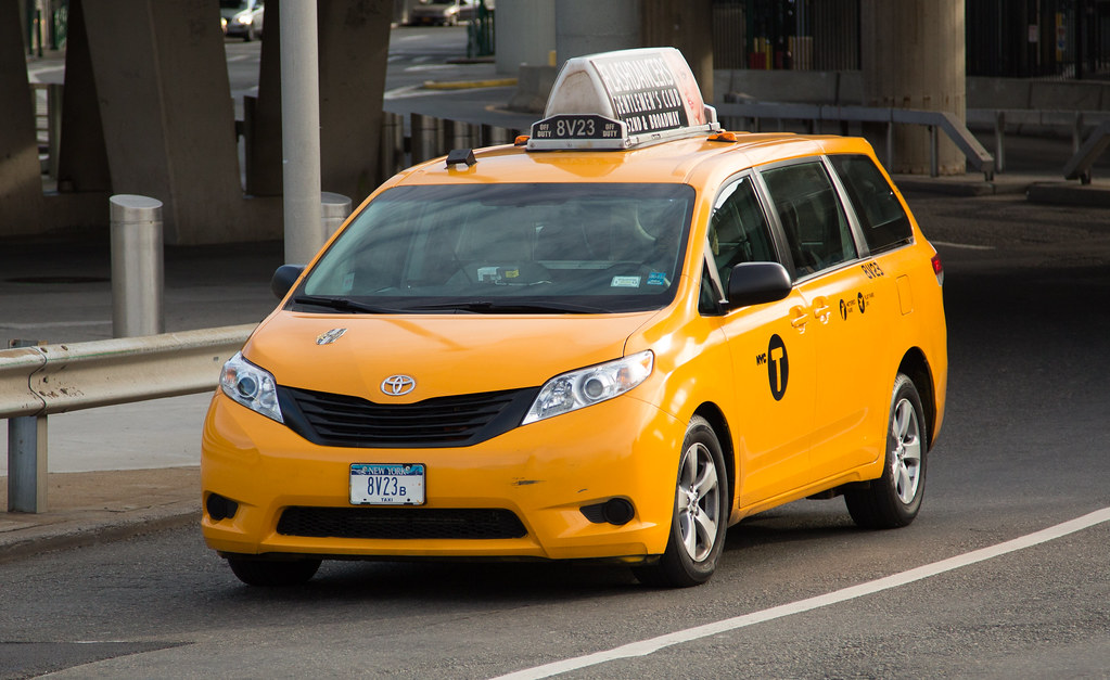 New York City Nyc Taxi Cab Toyota Sienna Tor Flickr