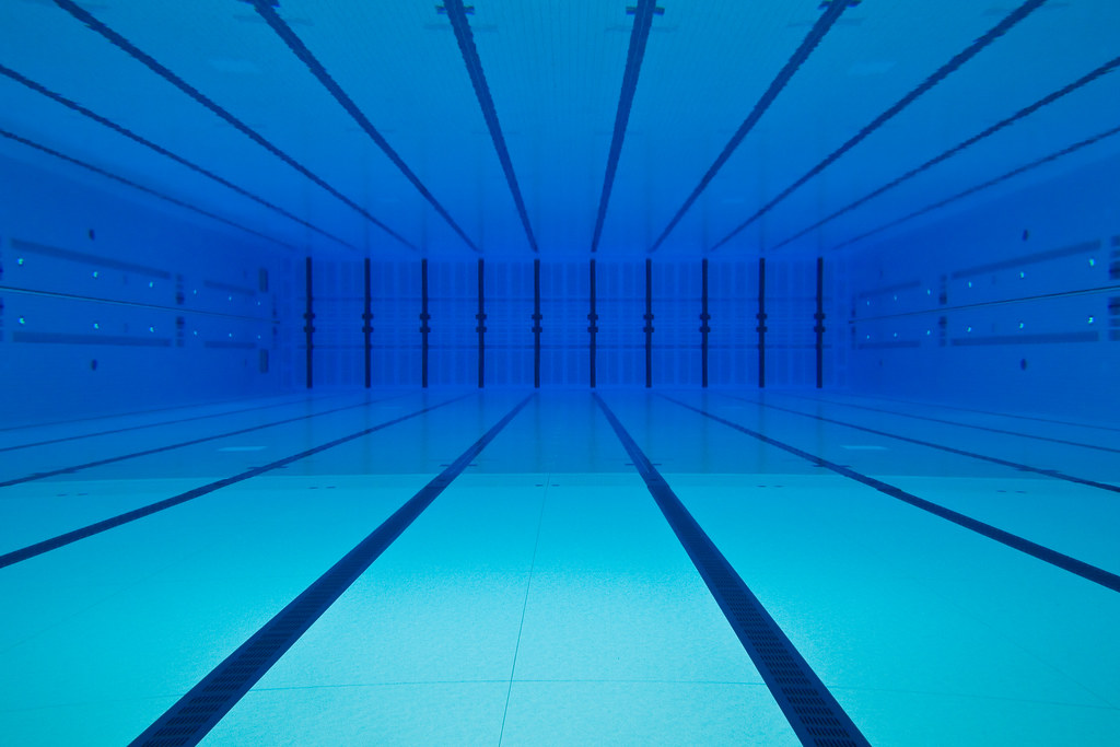 the olympic swimming pool by gary8345 - Olympic Swimming Pool Underwater
