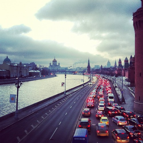 Moskva river #wander | by illustir