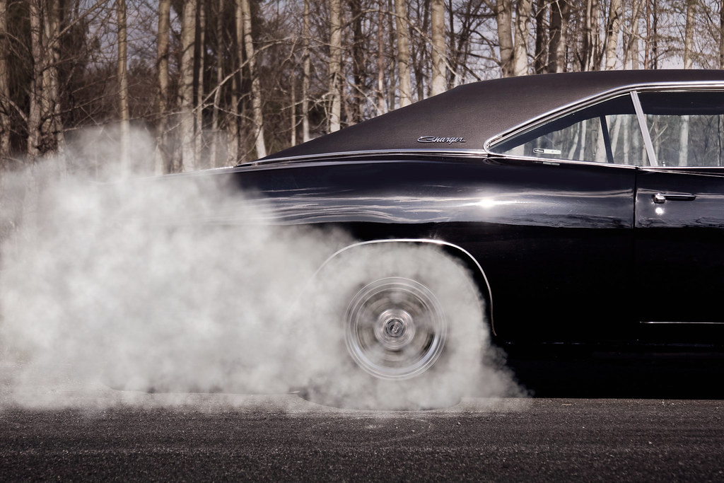 1968 Dodge Charger Burnout Nolan Flickr