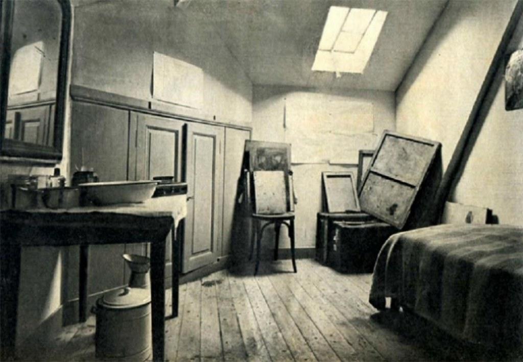 Chambre Reconstitu 233 E De V Van Gogh 224 Auvers Sur Oise Flickr