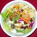 Lettuce Salad with Corn Salsa Dressing