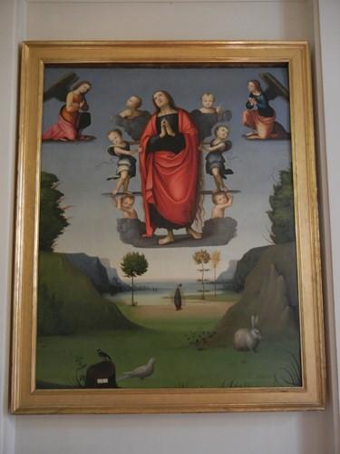 DSCN3903 _ Assunzione di Santa Maria Maddalena, Maestro della Maddalena Assunta, Pinacoteca Nazionale, Ferrara, 17 October