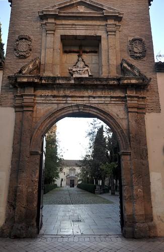Granada monasterio de san jer nimo acceso santiago - Abella granada ...