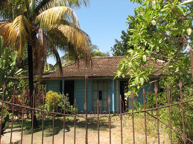 Antiqu sima casa colonial construida de madera que a n s - Casas de madera santa clara ...