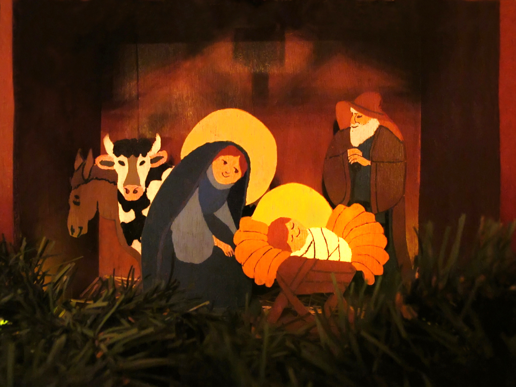 holy family in the stable merry christmas to all my flic u2026 flickr