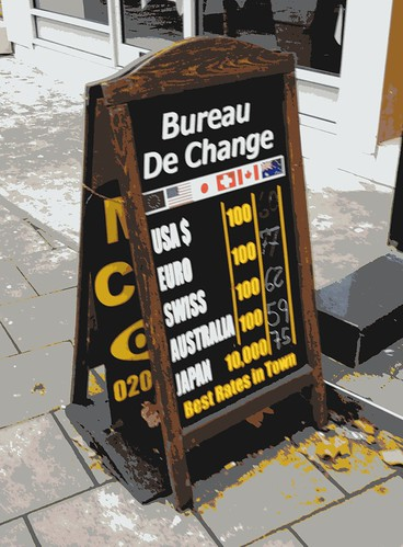 bureau de change rate blackboard king s cross 12th flickr