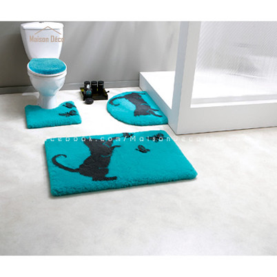 Tapis salle de bain personnalis s nabeul tunis vente for Ensemble tapis salle de bain