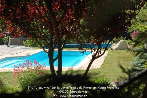 Gite de charme avec piscine en haute provence sisteron loc for Gite provence piscine