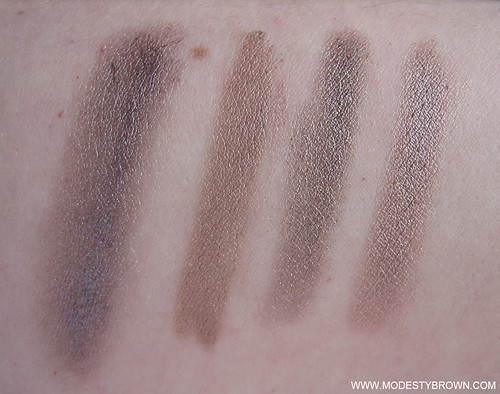 Taupe+Bases+Comparison3 | by Modesty Brown