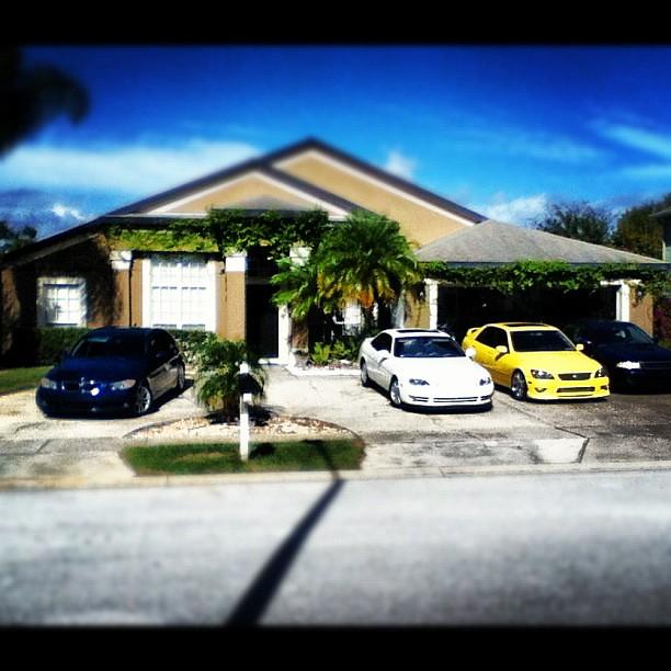 House Garage Family Jdm Lexus Bmw Whips Instagram Cars Ho