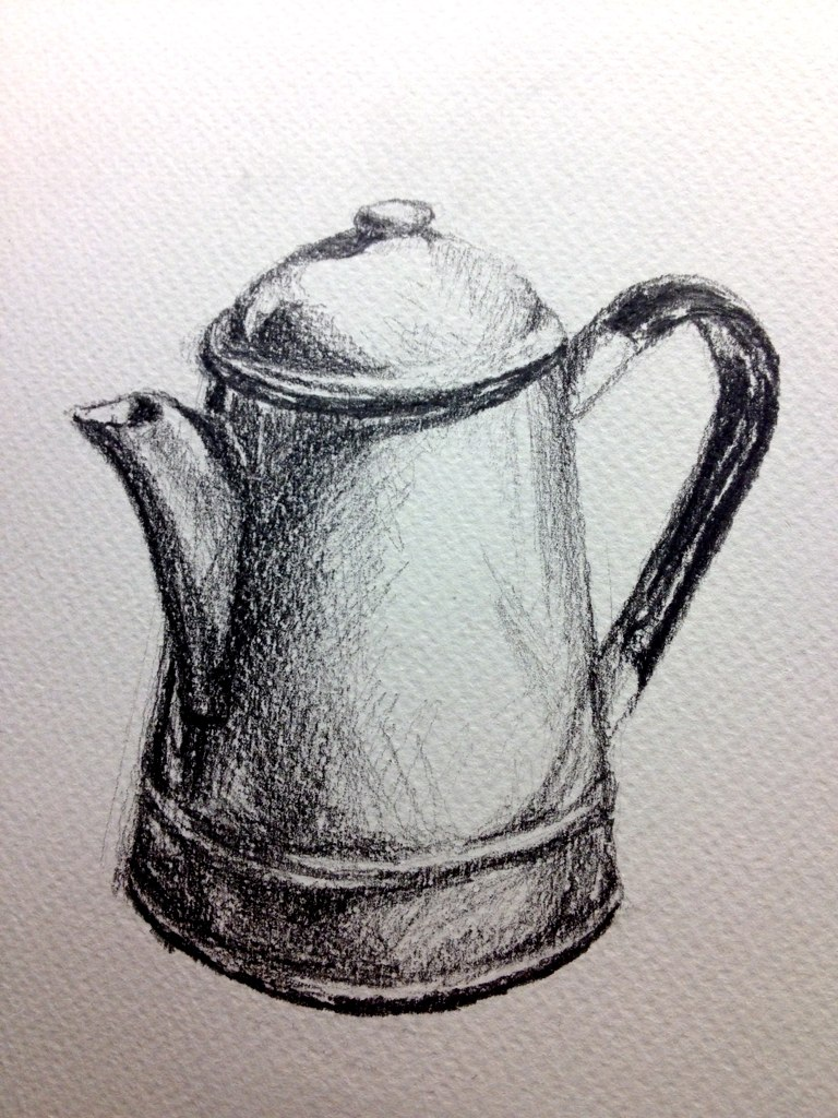 Coffee Pot Drawing Drawing Coffee Pot | by