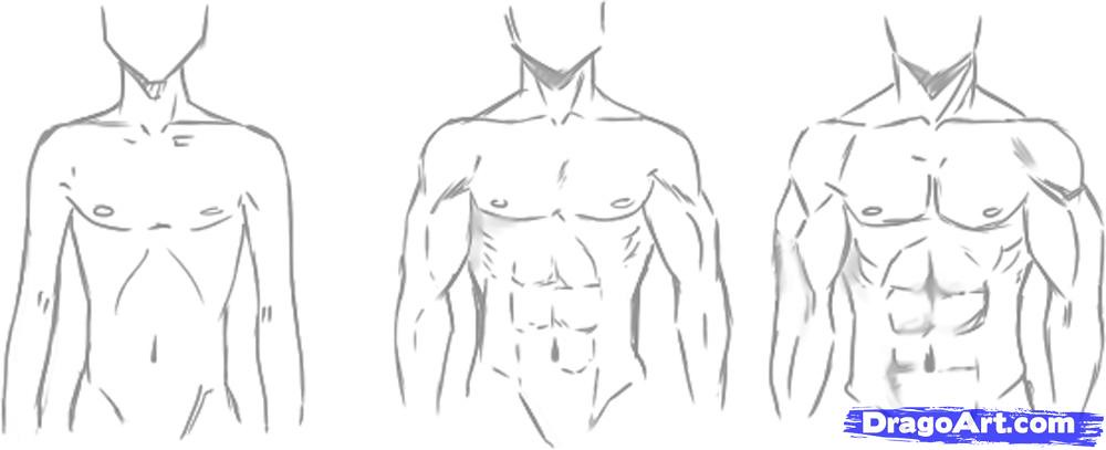 How-to-draw-manga-males,-draw-anime-males-step-2