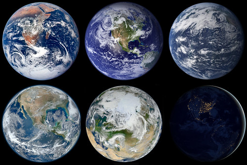 What is your favorite...Old, New, Aqua, Blue, White or Black Marble? | by NASA Goddard Photo and Video