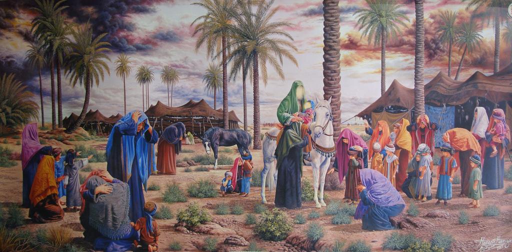 Ali Asghar Imam Hussain Imam Hussain as And Ali