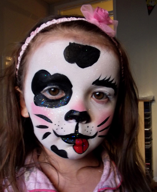 dalmatian face painting flickr photo sharing