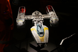 A Y-Wing in the Star Wars Launch Bay | by Disney, Indiana