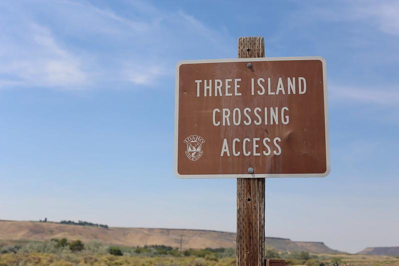 three island crossing
