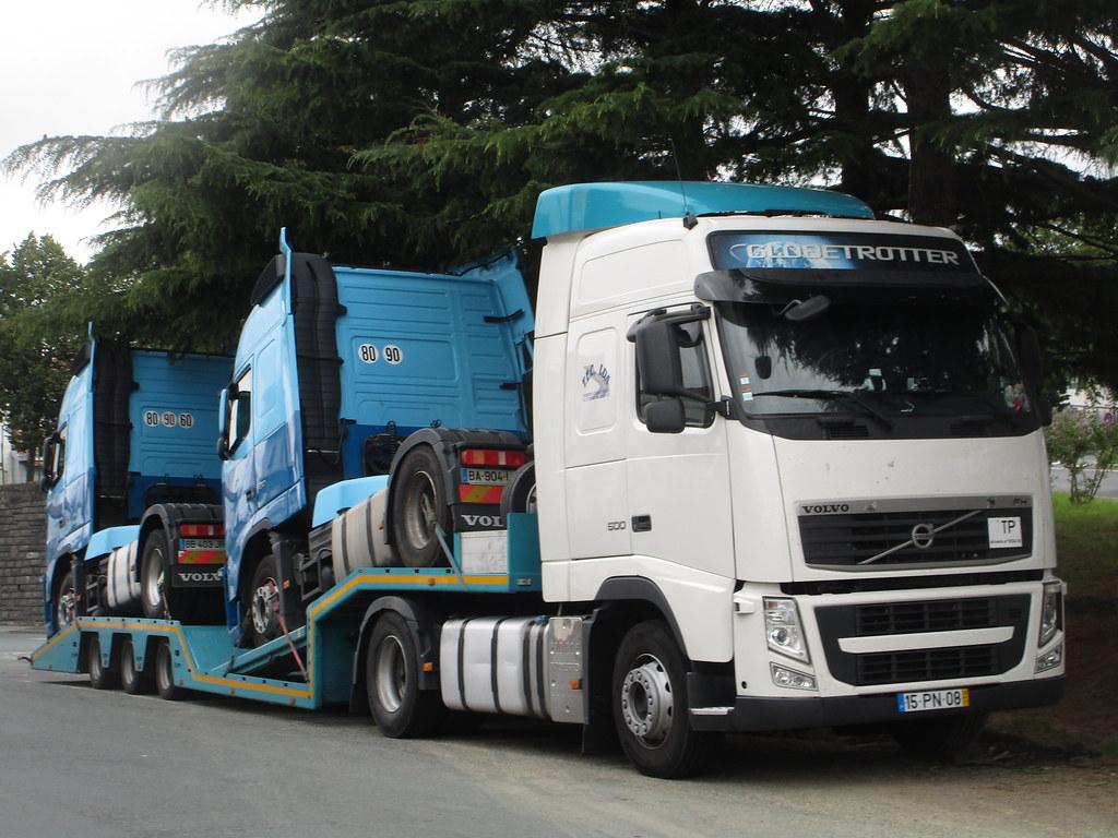 T E C Lda Transportes Eduardo Cardoso P Volvo Fh Iii 500