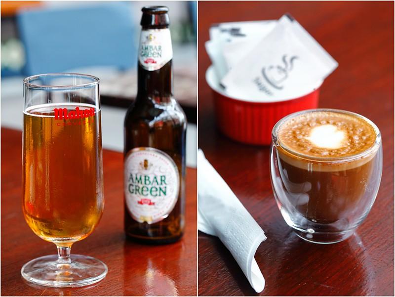Cortado Coffee & Ambar Green Beer