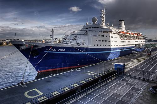 Cruise liner 'Marco Polo' visits Amsterdam   Fuga Mundi ...